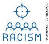racism target aim sketch icon... | Shutterstock .eps vector #1978658978