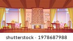 cozy cafe or restaurant with... | Shutterstock .eps vector #1978687988