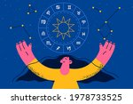 spirituality and astrology...   Shutterstock .eps vector #1978733525