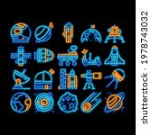 astronaut equipment neon light... | Shutterstock .eps vector #1978743032