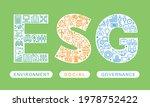 esg vector logo design....   Shutterstock .eps vector #1978752422