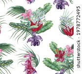 tropical floral seamless... | Shutterstock .eps vector #1978772495