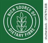 'rich Source Of Dietary Fiber'...