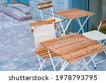 Light Wooden Table And Chairs...