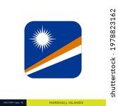 marshall islands flag vector... | Shutterstock .eps vector #1978823162