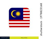 malaysia flag vector stock... | Shutterstock .eps vector #1978823168