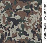 Camouflage Pattern Background ...
