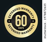 extended warranty abstract '60... | Shutterstock .eps vector #1978872635