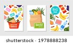 collection of food sale...   Shutterstock .eps vector #1978888238