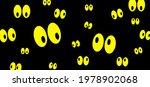 Yellow Cartoon Creepy Spooky...