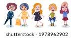 ute fashion children in... | Shutterstock .eps vector #1978962902