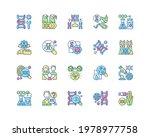 genetic engineering rgb color... | Shutterstock .eps vector #1978977758