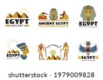 egypt stickers. ancient... | Shutterstock .eps vector #1979009828