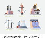 electricity plant. power hydro...   Shutterstock .eps vector #1979009972