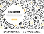 hand drawn banners template... | Shutterstock .eps vector #1979012288
