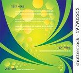 vector brazil flag  background... | Shutterstock .eps vector #197902352