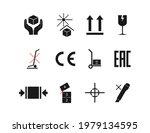set of packaging symbol. vector ... | Shutterstock .eps vector #1979134595