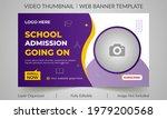 editable thumbnail design for...   Shutterstock .eps vector #1979200568