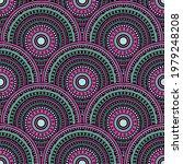 moroccan mandala circles...   Shutterstock .eps vector #1979248208