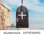 Iron Plate With Cross In The...