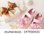 baby shower decoration   it is... | Shutterstock . vector #197930432