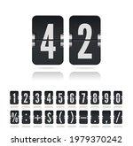 flip numbers and symbols font...