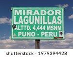 Tourist Information On Sign...