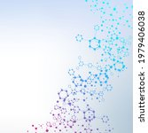 science network pattern ...   Shutterstock . vector #1979406038