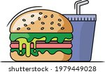 a vector of a delicious looking ... | Shutterstock .eps vector #1979449028
