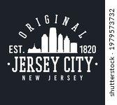 jersey city  nj  usa skyline... | Shutterstock .eps vector #1979573732