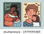best dad ever  cute festive... | Shutterstock .eps vector #1979595485