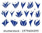 vector abstract happy people...   Shutterstock .eps vector #1979604395