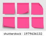 Pink Note Paper Post On...