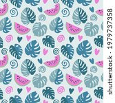 geometric seamless pattern of... | Shutterstock .eps vector #1979737358
