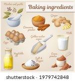 baking ingredients icons set ... | Shutterstock .eps vector #1979742848