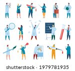 scientist characters. male and...   Shutterstock .eps vector #1979781935