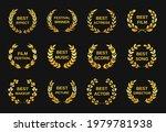 movie award. golden film awards ...   Shutterstock .eps vector #1979781938