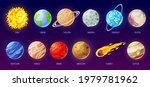 solar system planet. cartoon...   Shutterstock .eps vector #1979781962
