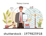 notary license concept.... | Shutterstock .eps vector #1979825918