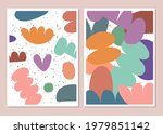 abstract backgrounds set with... | Shutterstock .eps vector #1979851142