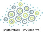 modern funny abstract rounded... | Shutterstock .eps vector #1979885795