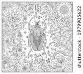 zentangle stylized cartoon ... | Shutterstock .eps vector #1979905622