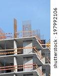 building construction site work ... | Shutterstock . vector #197992106
