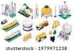 oil petroleum industry set of... | Shutterstock .eps vector #1979971238