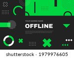 offline twitch banner template. ...   Shutterstock .eps vector #1979976605