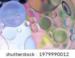Abstract Of Colorful Oil Bubble ...