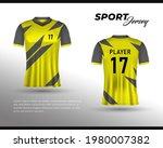 sports racing jersey design....   Shutterstock .eps vector #1980007382