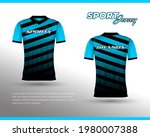 sports racing jersey design....   Shutterstock .eps vector #1980007388