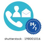 vector design of all day... | Shutterstock .eps vector #198001016