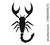 scorpio icon. simple...   Shutterstock .eps vector #1980059672